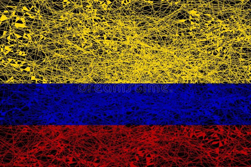 colombia flag? ilustracji