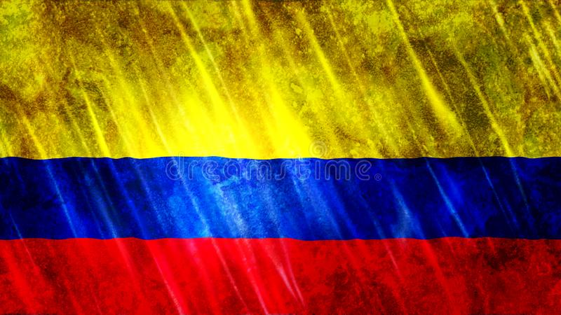 Colombia Flag. For Print, Wallpaper Purposes, Size : 7680  x 4320 Pixels, 300 dpi, Jpg Format stock image