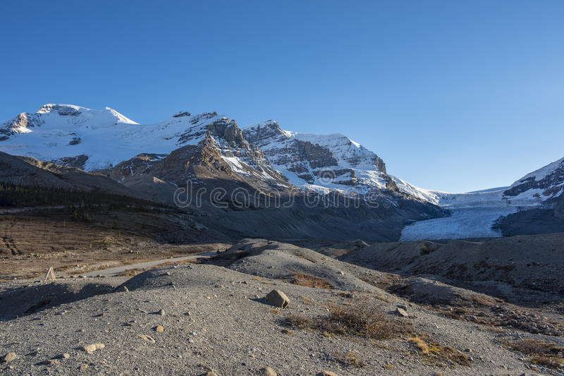 Colombia icefields stock fotografie