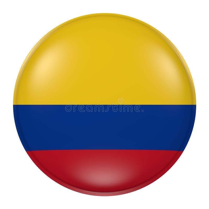Colombia knapp vektor illustrationer