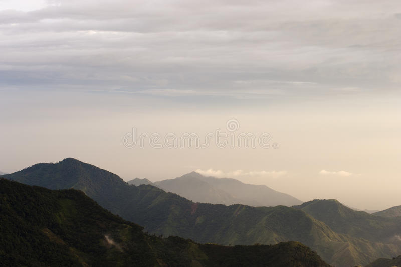 Colombia - Mountains in the Sierra Nevada de Santa Marta. A Area in the North of Colombia stock photos
