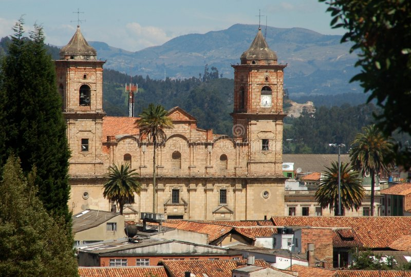 Download Colombia Sightseeing: Cathedral In Zapiquira Stock Photo - Image: 8170126