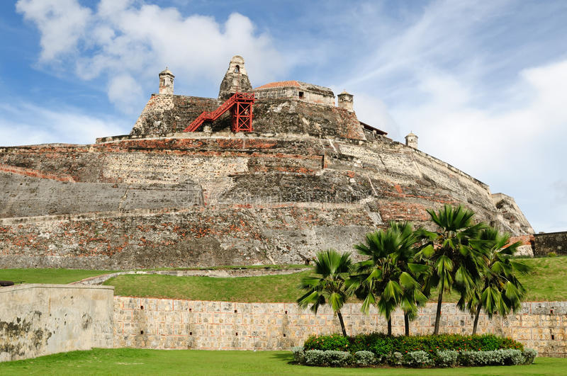 Download Colombia, View On The Citadel In Cartagena Royalty Free Stock Photos - Image: 28322398