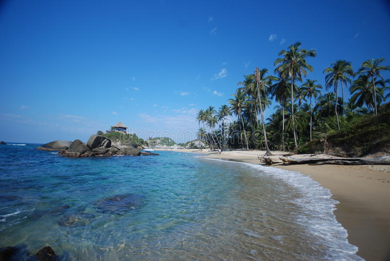 Colombian beach stock images