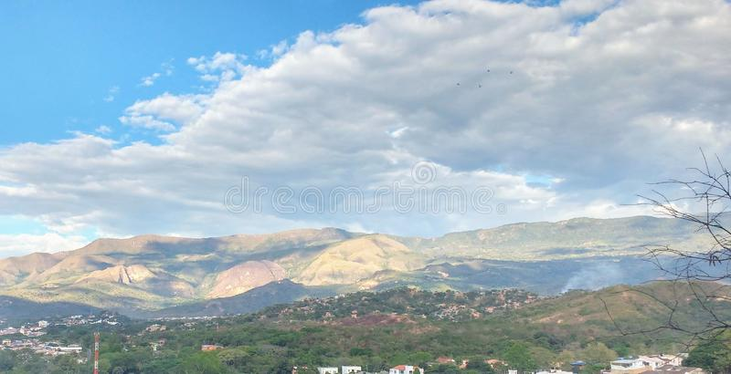 Colombian Landscape stock photography