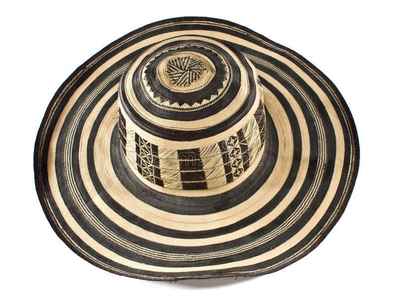 Colombian sombrero royalty free stock photo