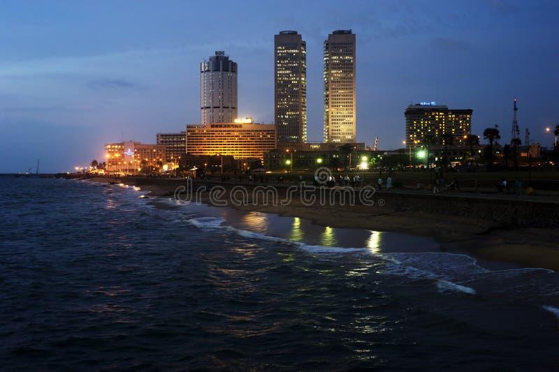 Colombo alla notte immagini stock libere da diritti