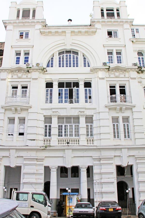 Colombo Colonial Building, Sri Lanka fotografie stock