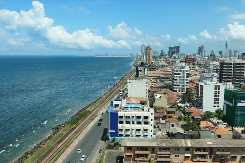 Colombo Ocean Front 1 immagini stock libere da diritti