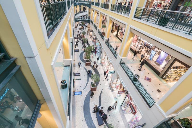 Colombo Shopping Center royaltyfria bilder