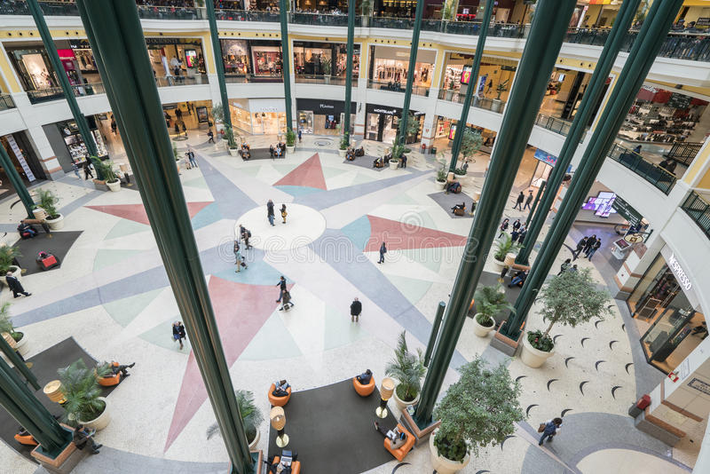 Colombo Shopping Center fotografia stock libera da diritti