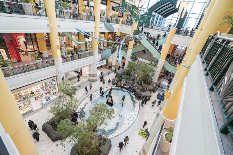 Colombo Shopping Center immagini stock
