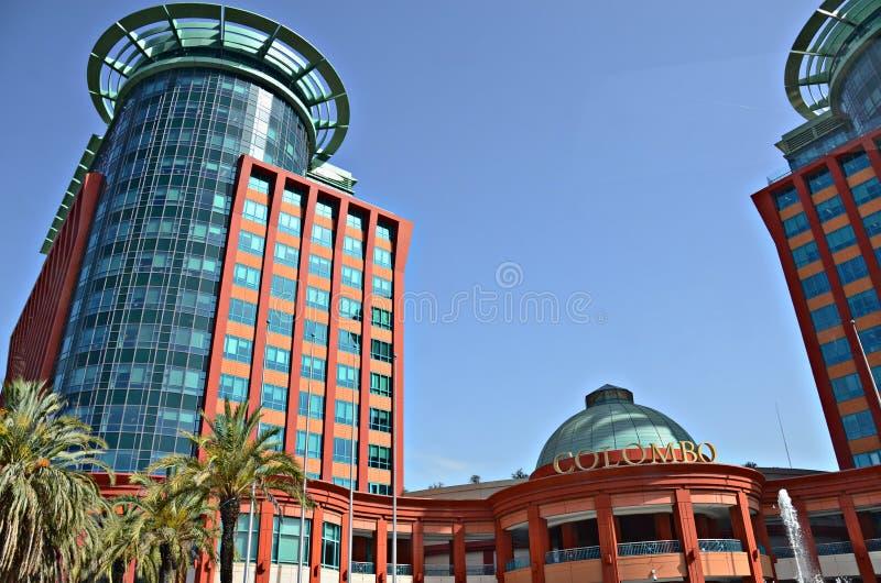 Colombo Shopping Center a Lisbona immagini stock
