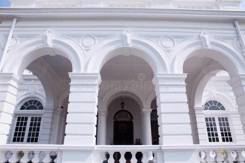 Colombo, Sri Lanka - 11 Februari 2017: Het Nationale Museum van Colombo heeft een rijke inzameling van Aziatische arts. stock afbeelding