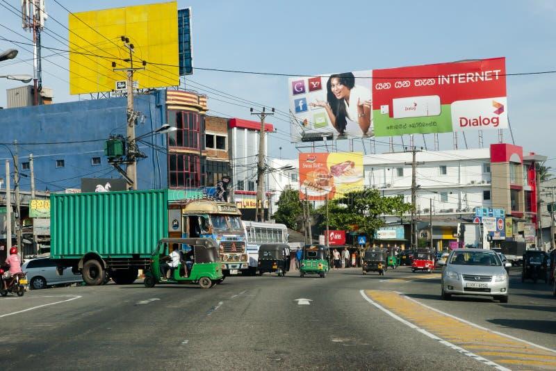 COLOMBO SRI LANKA - Januari 15, 2012: arkivfoton