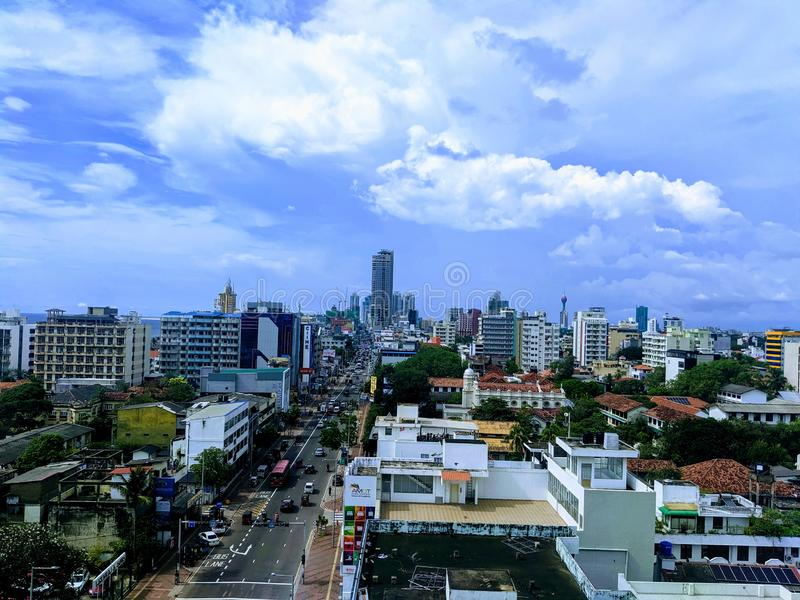 Colombo Sri Lanka royalty free stock photography