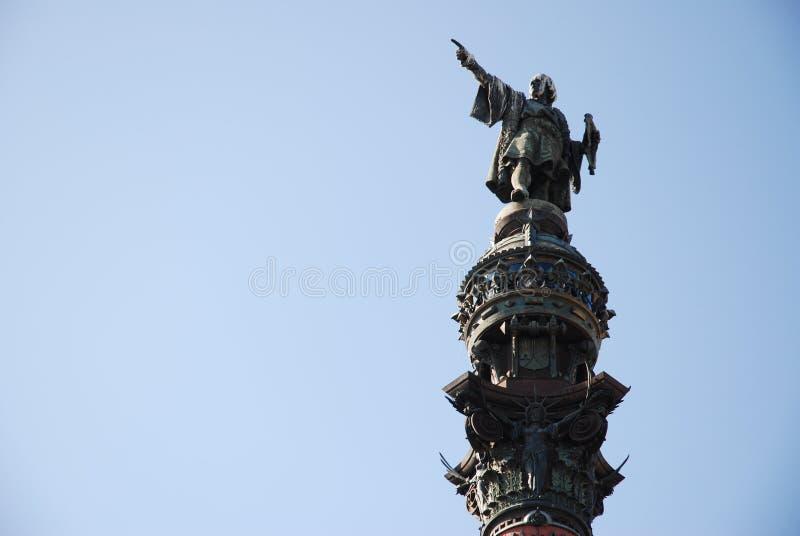 Colon Statue Stock Photography