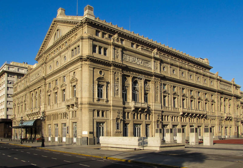 Colon Theater, Buenos Aires, Argentina royalty free stock photography