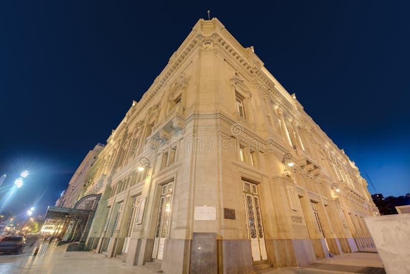 Colon Theatre in Buenos Aires, Argentina. Colon Theatre facade on 9 de julio Avenue in Buenos Aires, Argentina stock image