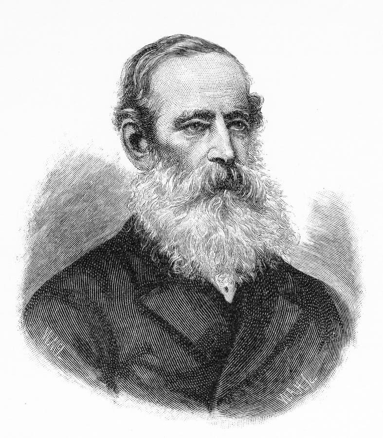 Colonel Samuel Wensley Blackall 1809 †'1871 zdjęcia stock