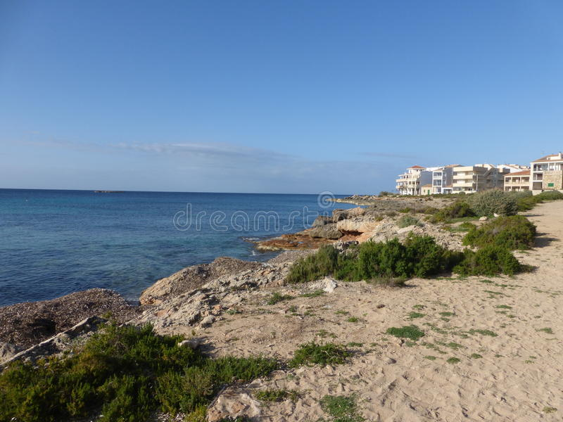 Colonia DE Sant Jordi City royalty-vrije stock fotografie