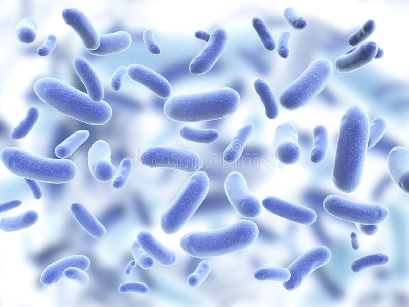Colonia dei virus patogeni illustrazione vettoriale