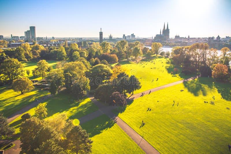 Colonia desde arriba imagen de archivo