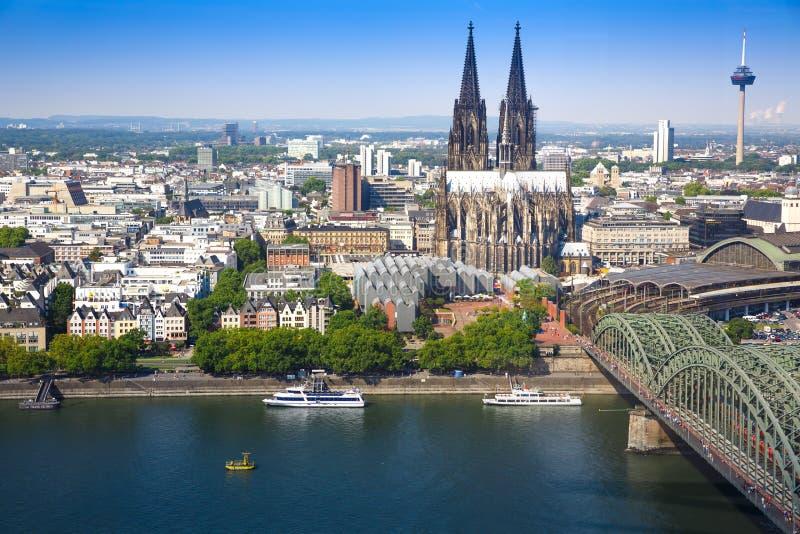 Colonia en Alemania fotos de archivo