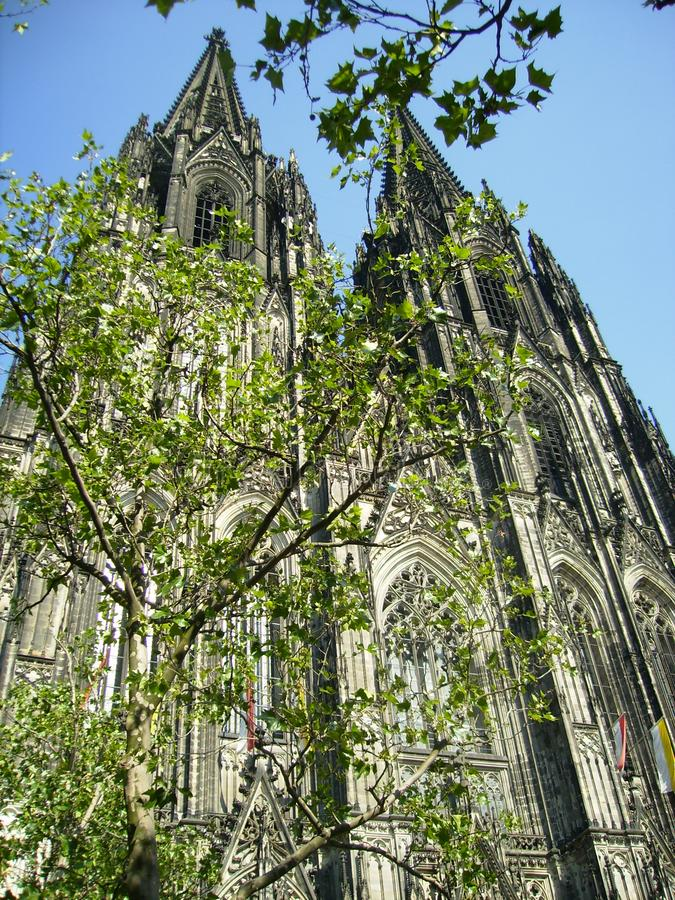 Colonia Kathedral, Germania immagini stock libere da diritti