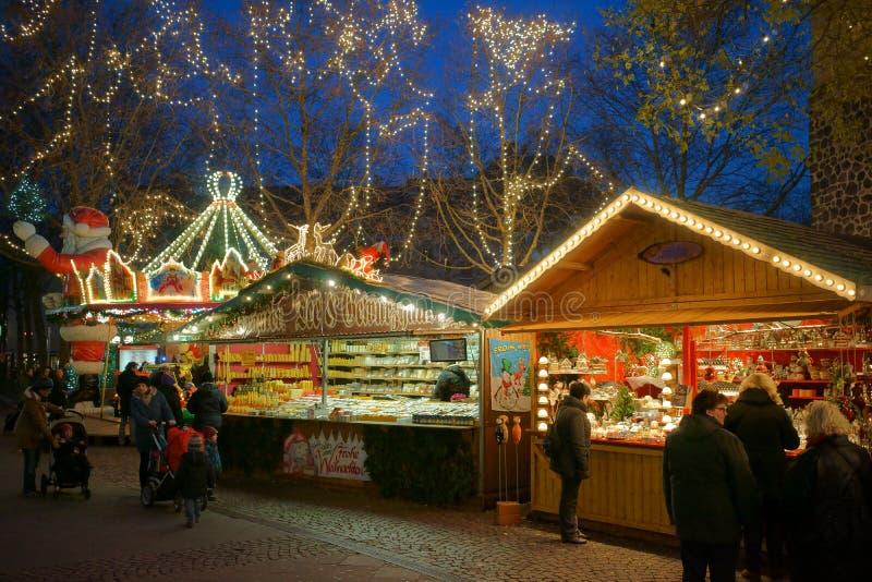 Colonia - mercato di Natale immagini stock libere da diritti