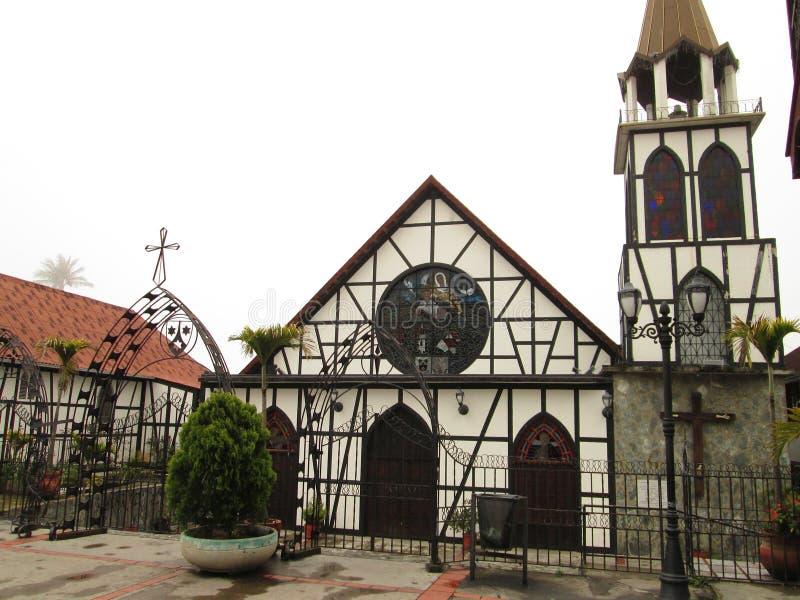 Colonia Tovar royalty-vrije stock foto's
