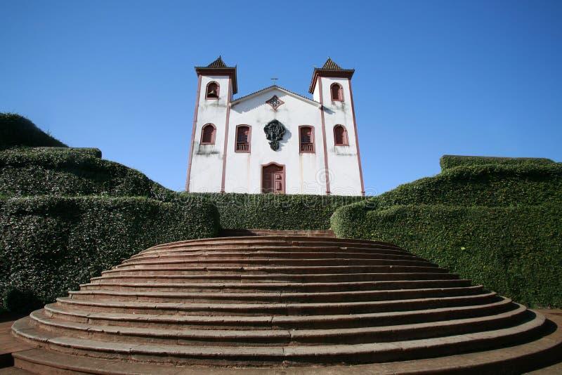 colonial церков стоковое изображение rf
