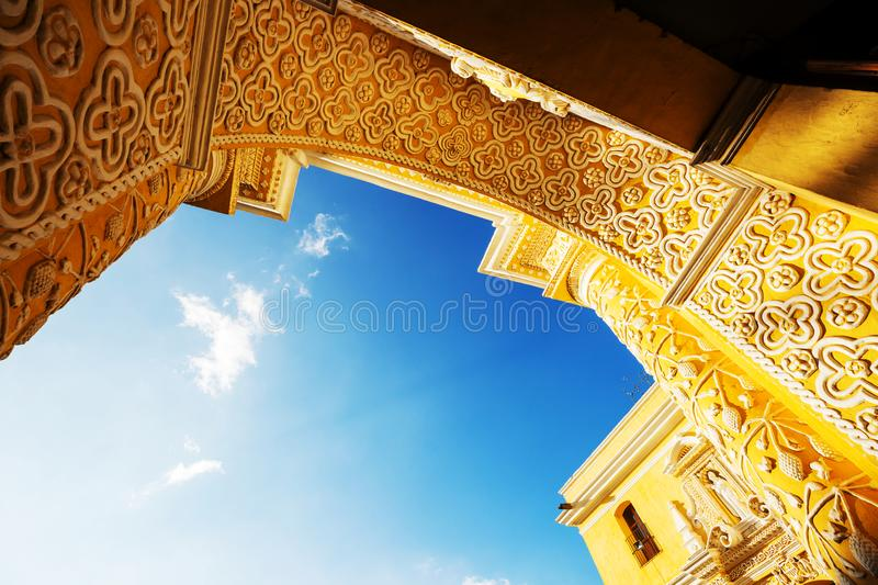 Download Antigua stock image. Image of beautiful, arch, background - 110819019