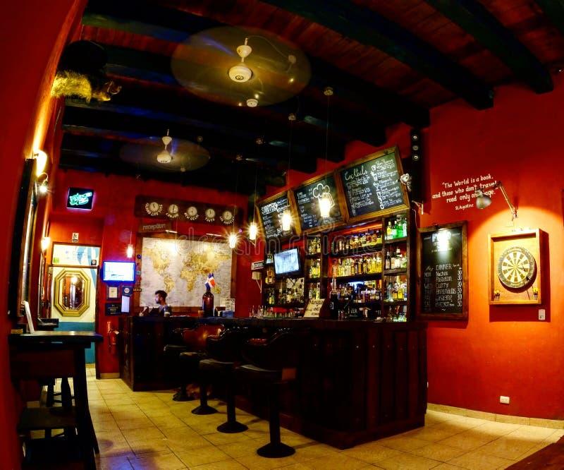 Colonial Bar stock photo