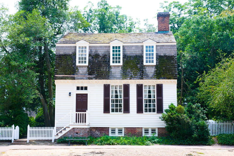 Download Colonial Cottage Home stock image. Image of architecture - 27415801