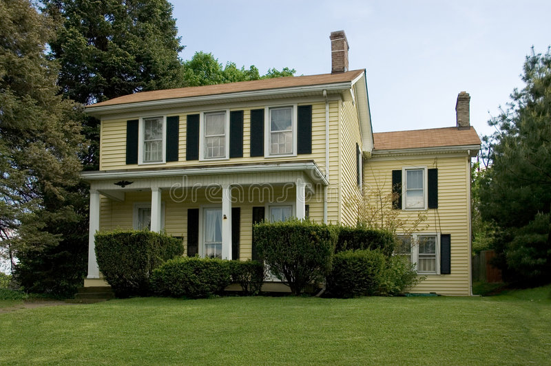 Colonial Home stock images