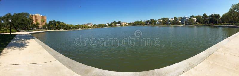 Colonial Lake, Charleston, SC. royalty free stock photography
