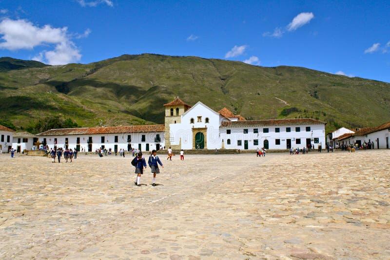 Download Colonial Main Square Villa De Leyva, Colombia Editorial Photo - Image of boyaca, plaza: 21040771