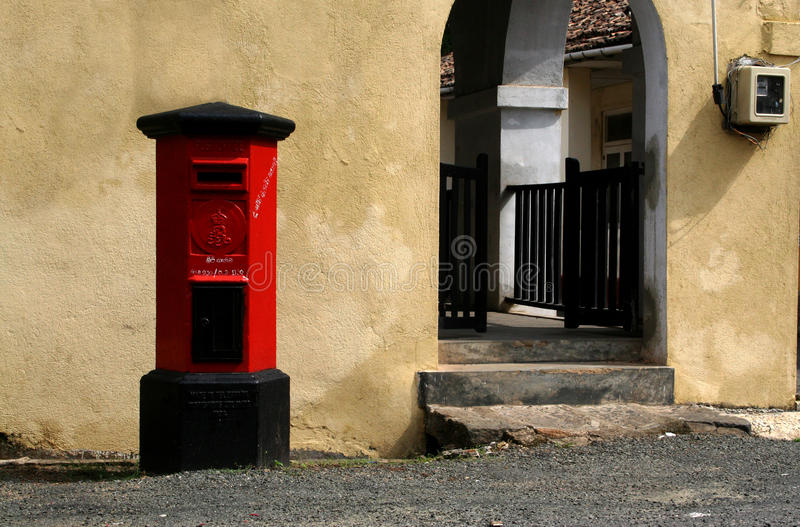Colonial Pillarbox stock photos