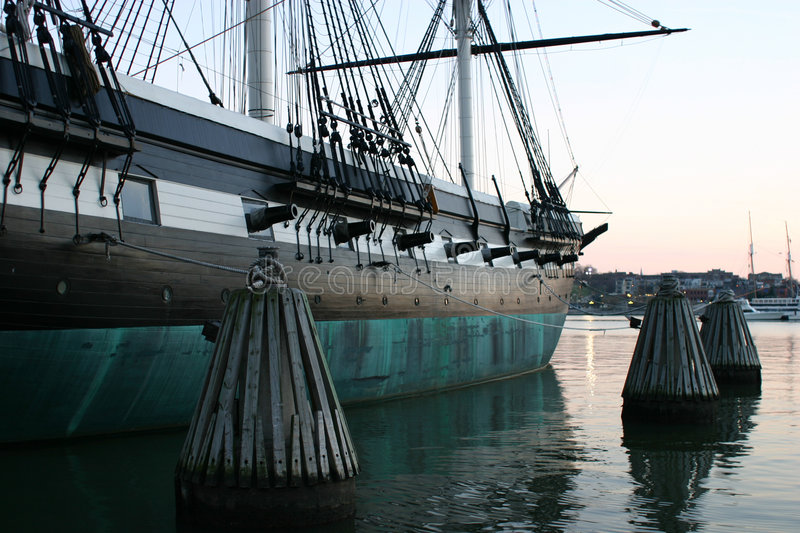 Download Colonial ship 2 stock image. Image of cannon, transportation - 64709