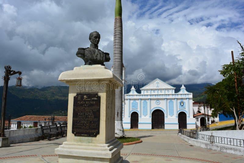 Colonial town of Jaji, Venezuela royalty free stock photography