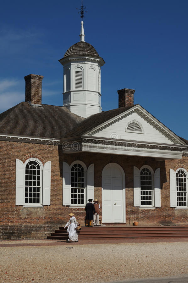 Download Colonial Williamsburg Courthouse Editorial Photography - Image: 27701542