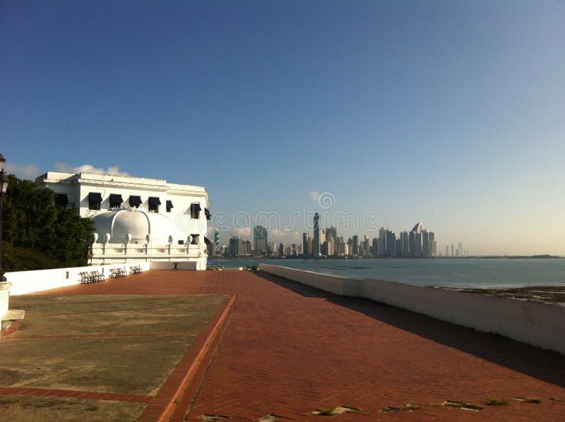 Coloniale anziano Panamá immagine stock