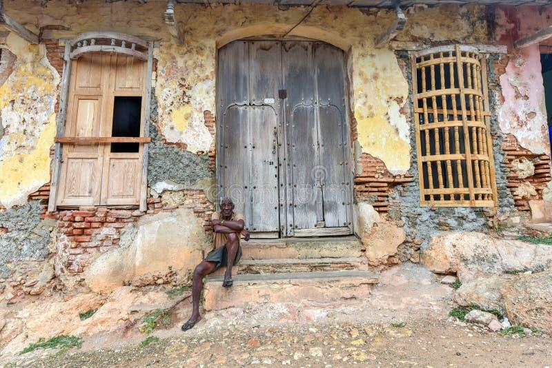 Coloniale Trinidad, Cuba fotografie stock libere da diritti
