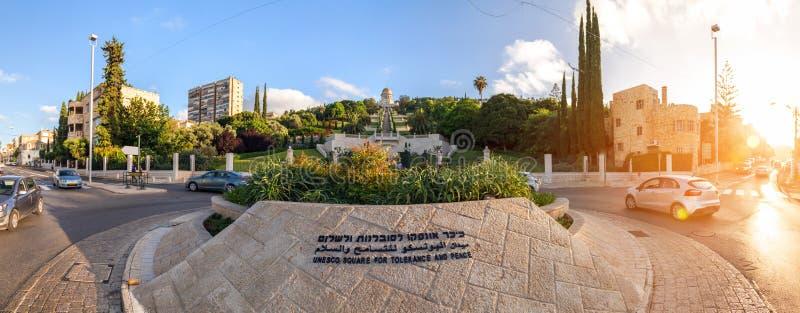 Colonie allemande, Haïfa, Israël image libre de droits