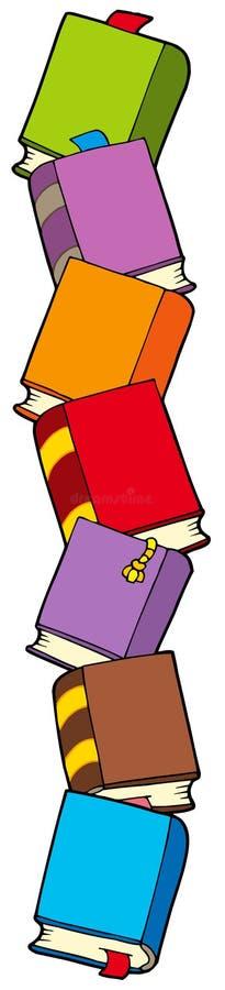 Colonna dei libri royalty illustrazione gratis