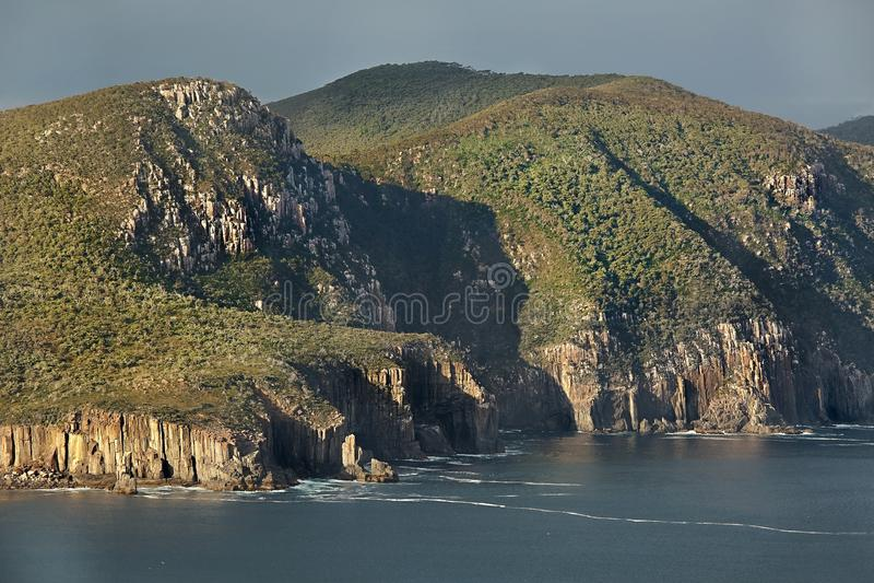 Colonna del capo, paesaggio tasmaniano immagine stock libera da diritti