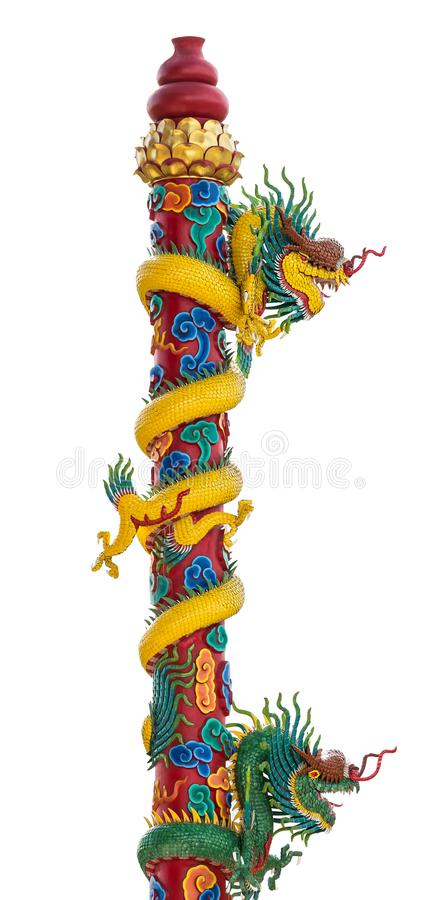 Colonna del drago immagine stock