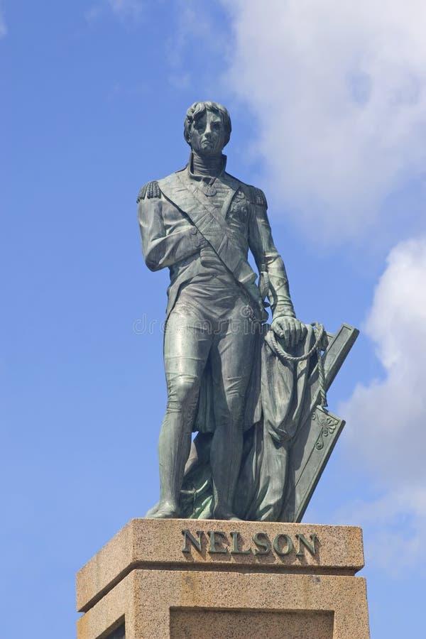 Colonna del Nelson, Bridgetown, Barbados fotografie stock libere da diritti