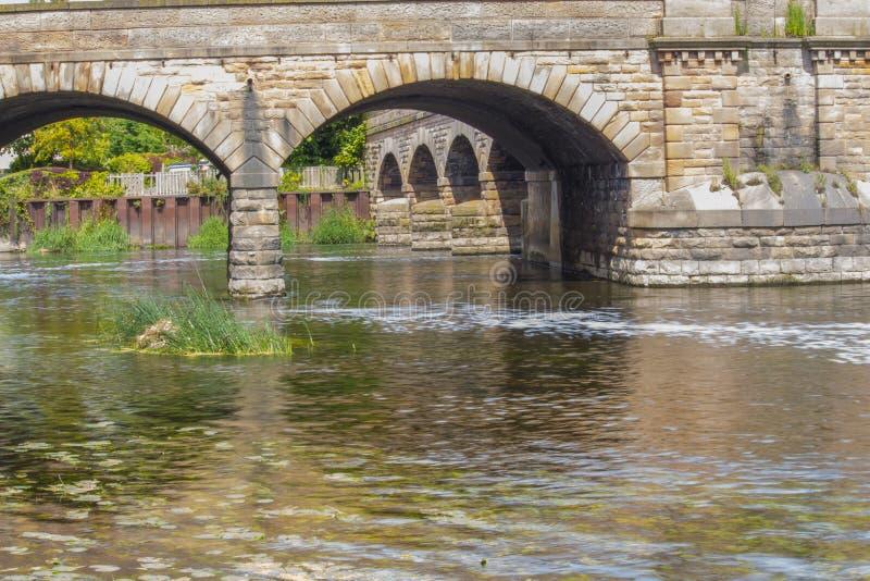 Colonna del ponte immagini stock libere da diritti